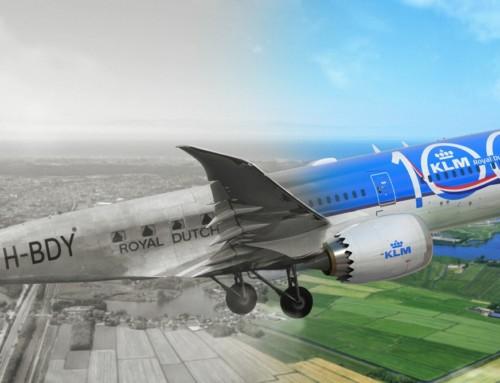 Prvi vek holandske aviokompanije KLM