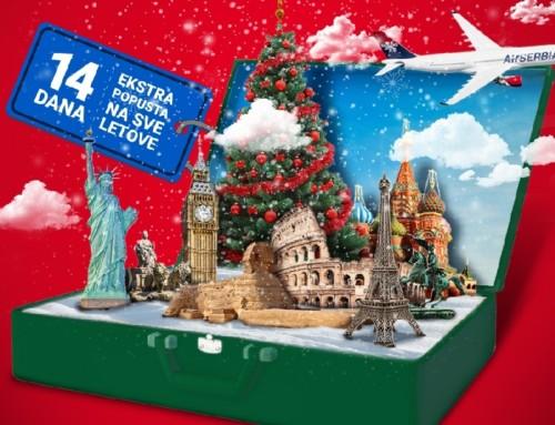 Air Serbia započela veliku novogodišnju promociju