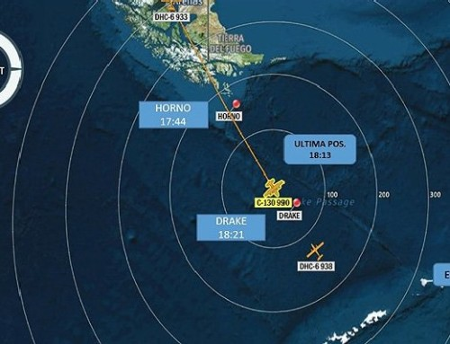 Srušio se čileanski Herkules na letu ka bazi na Antarktiku