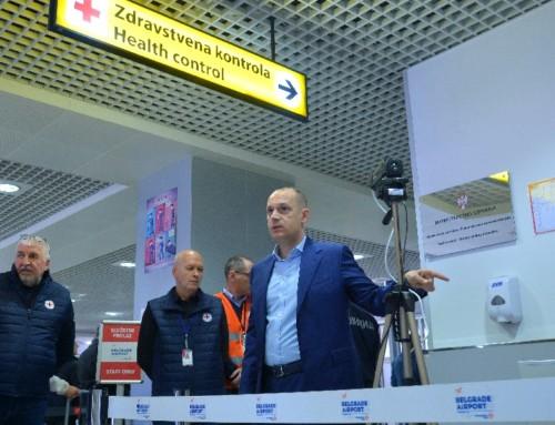 Beogradski aerodrom preduzeo mere za sprečavanje širenja Vuhan koronavirusa