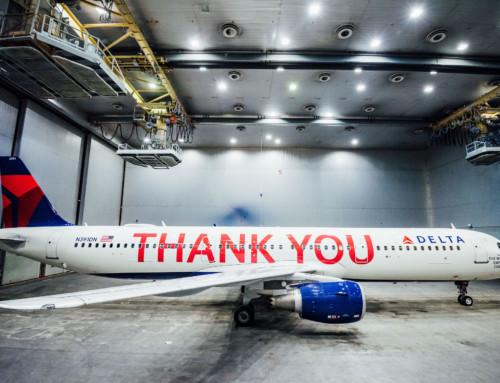 Deltin Thank You! avion