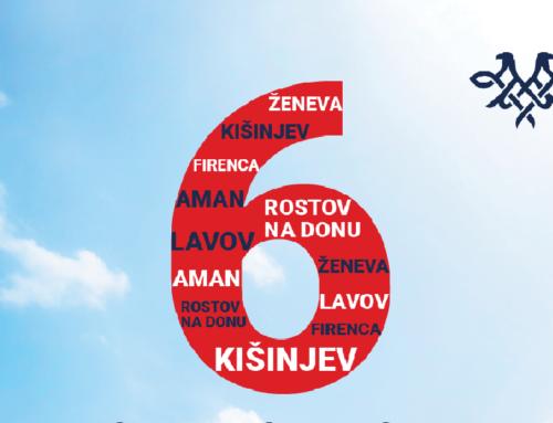 Air Serbia uvodi šest novih linija