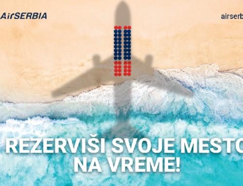 Air Serbia na Sajmu turizma predstavlja novih šest linija uz sajamsku promociju