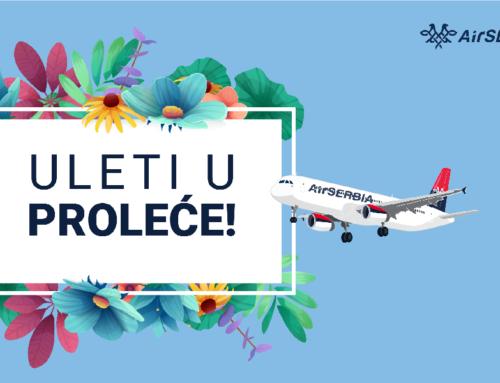 Velika promotivna akcija Air Serbije – Uleti u proleće!