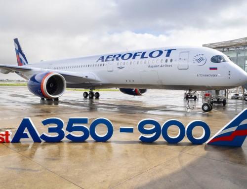 Prvi A350-900 za Aeroflot