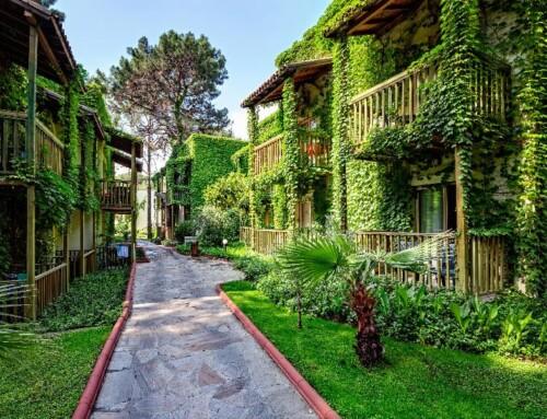 Amara Club Marine Hotel je zelena oaza na mediteranskoj obali Turske