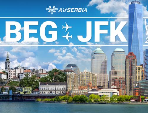 Air Serbia prva po popunjenosti kapaciteta na letovima do Njujorka