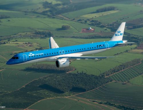 Prvi Embraer E195-E2 za KLM Cityhopper stigao u Amsterdam