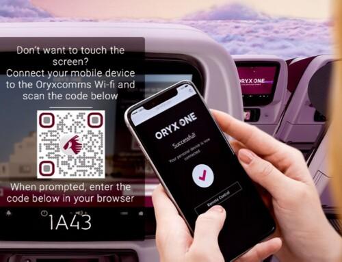 Qatar Airways prvi u svetu uvodi beskontaktni sistem zabave na letu