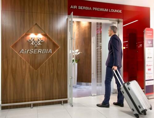 Premijum salon Air Serbije na aerodromu u Beogradu otvoren za veći broj putnika