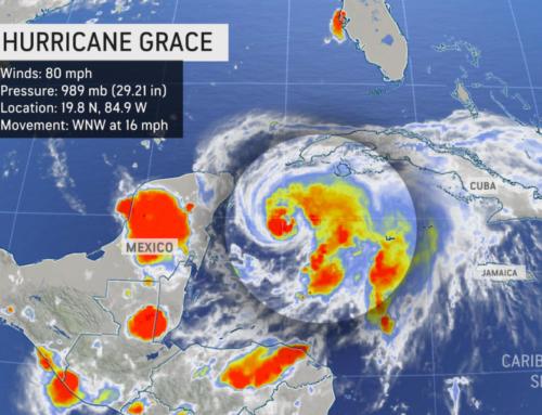 Uragan Grace se približava Majanskoj rivijeri