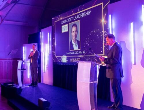 Wizz Air-ov direktor Jožef Varadi osvojio nagradu za liderstvo
