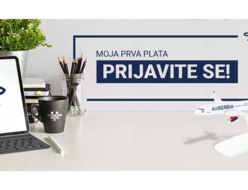 Air Serbia u programu za mlade talente – Moja prva plata